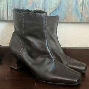 NINE WEST Solset Leather Boots
